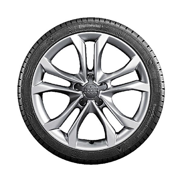 Audi 19 inch lichtmetalen winterset, 5-arm parallelspaak