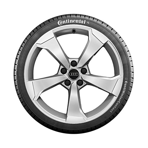 Audi 19 inch lichtmetalen winterset, 5-arm Rotor