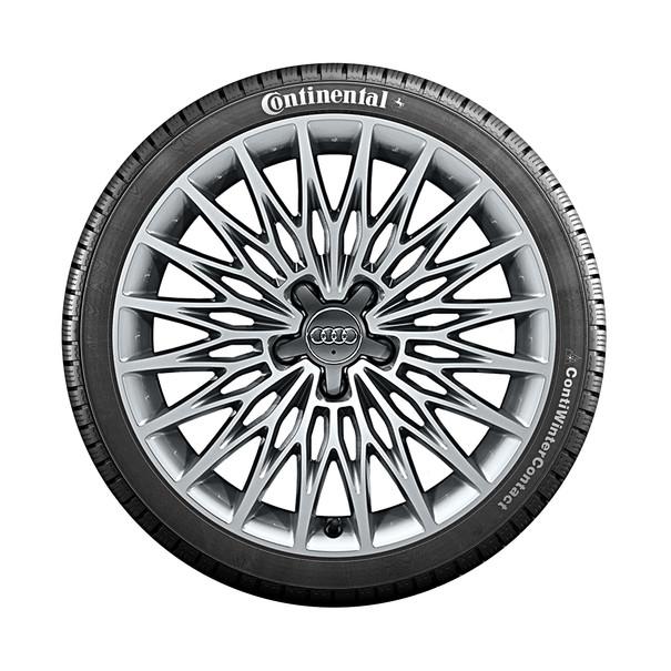 Audi 18 inch lichtmetalen winterset, multispaak ster