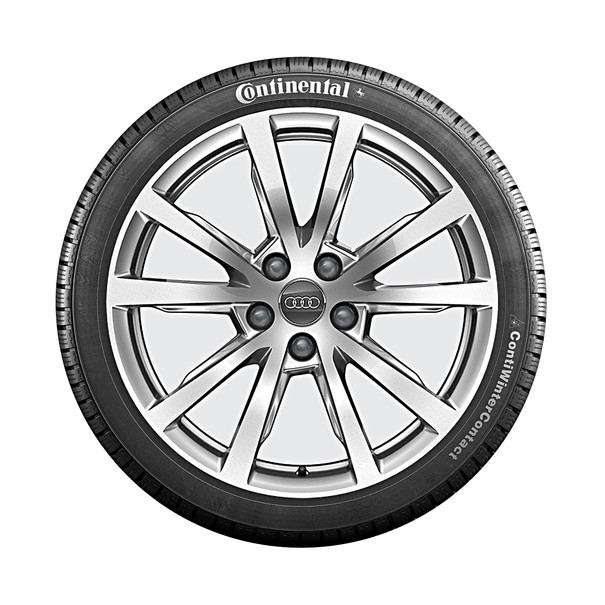 Audi 18 inch lichtmetalen winterset, 5-V spaak