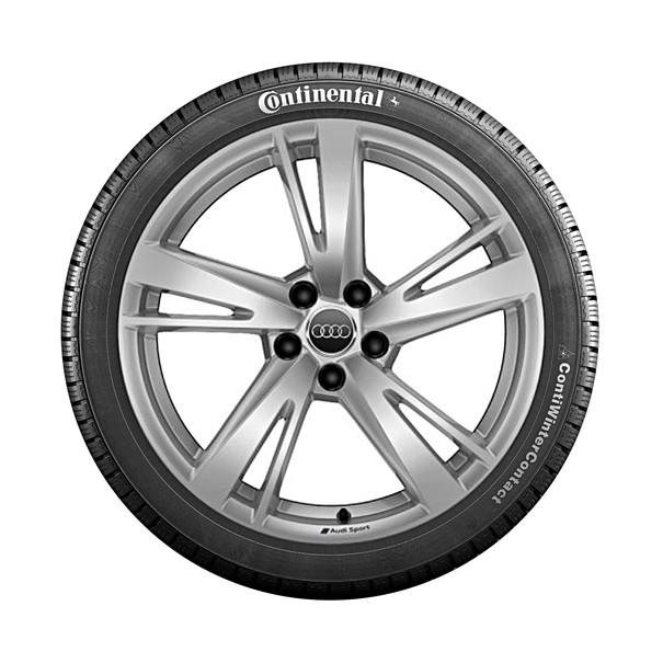 Audi 19 inch lichtmetalen winterset, 5-arm Rotor, RS3 Limousine