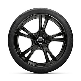 Audi 22 inch lichtmetalen winterset, zwart, Q7