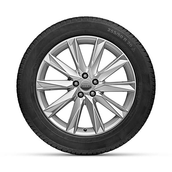 Audi 20 inch winterset 10 spaak Lamina Design zilver, etron