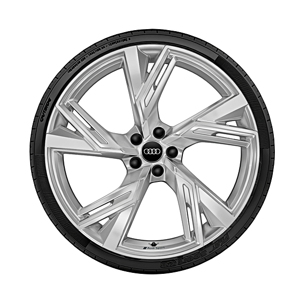 Audi 22 inch winterset 5-spaak Trapeze design, RS6 / RS7