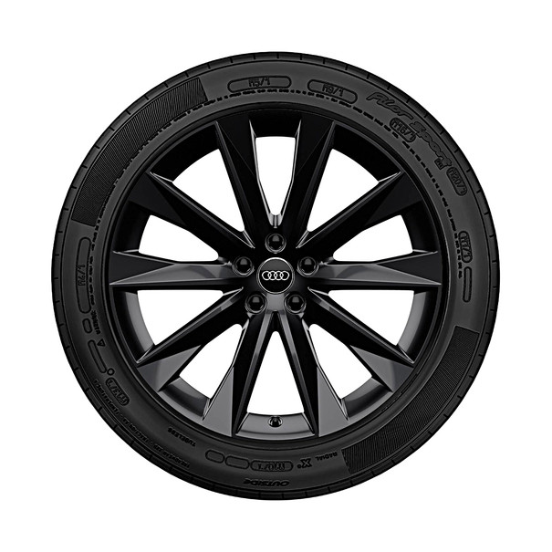 Audi 20 inch winterset 5 spaak Astrum design zwart, A6 allroad