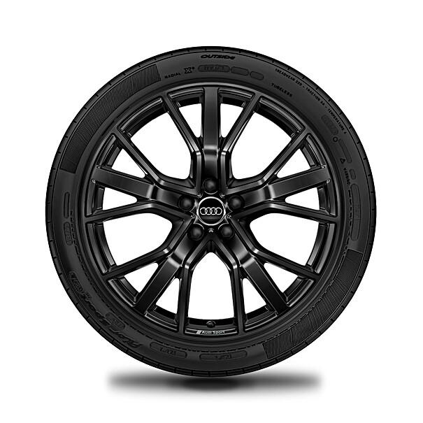 Audi 20 inch winterset, 5 V spaak design zwart, RSQ3