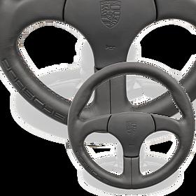 Sportstuur zonder airbag zwart - Porsche 911 en 959