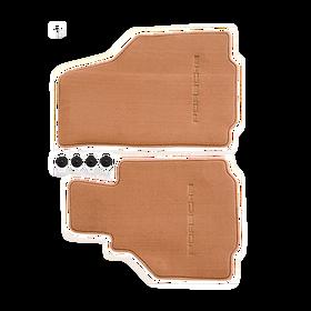 Vloermatten Natural Brown - Porsche Boxster (986)