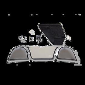 Porsche Windstop set Boxster (986)