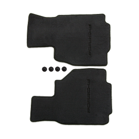 Vloermatten Black - Porsche Boxster (986)