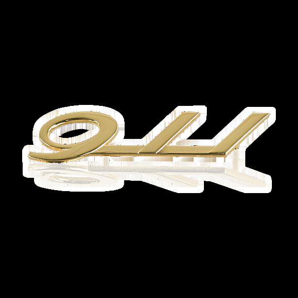 """Belettering """"911"""" - Porsche 911 en 912"""