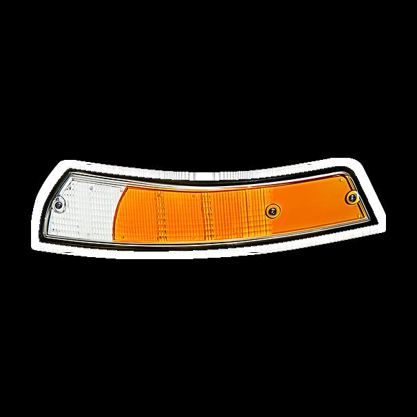 Lens zwarte rand linker knipperlicht - Porsche 911 (1973)