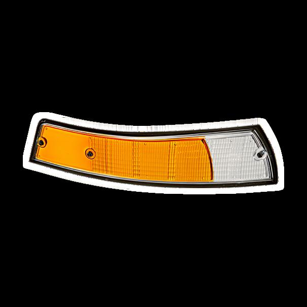 Lens zwarte rand rechter knipperlicht - Porsche 911 (1973)