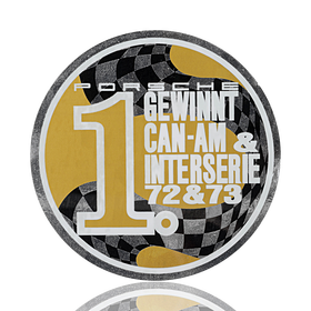 Porsche Auto raamsticker - Marken-Weltmeister Can-Am