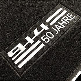 """Porsche Velours voetmattenset 914 """"50 Jahre"""""""