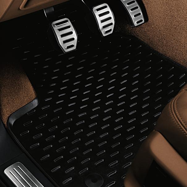 Porsche All-weather vloermattenset zwart voor Cayenne (E1), 4-delig