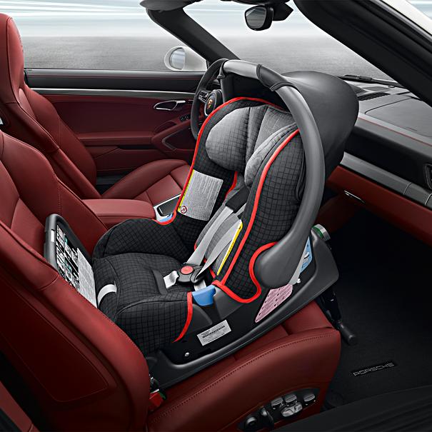 kinderzitje Porsche Baby Seat Base ISOFIX, G0+