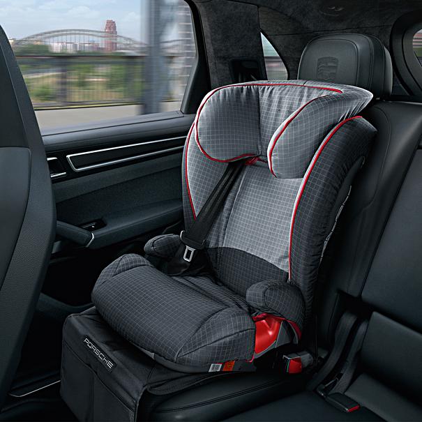 kinderzitje Porsche Junior Plus Seat ISOFIT, G 2 + G 3 , met steunpoot
