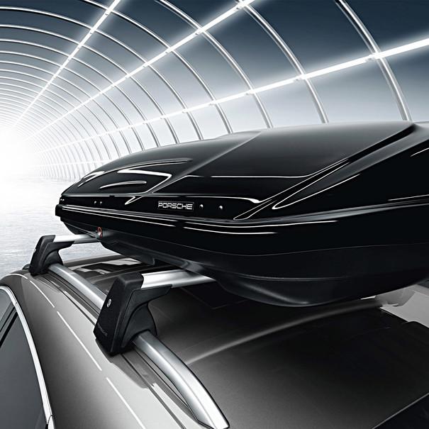 Porsche Dakbox breed 520L, zwart