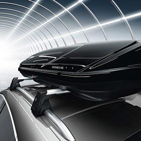 Porsche Dakbox smal 320L, zwart