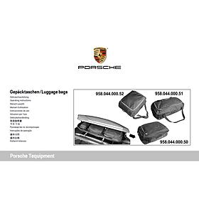 Porsche Dakkoffer opbergtas, maat L
