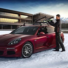 Porsche Ski-/snowboarddrager, uittrekbaar