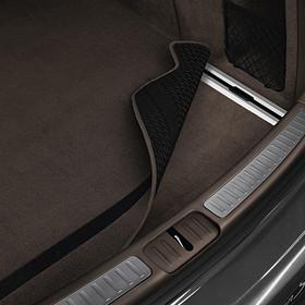 Porsche Omkeerbare kofferruimtemat met nubuck zoomrand voor Macan