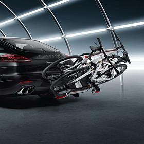 Porsche Fietsendrager voor op trekhaak