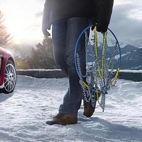 Porsche Sneeuwkettingen voor Panamera G1-2 (19 en 20 inch)
