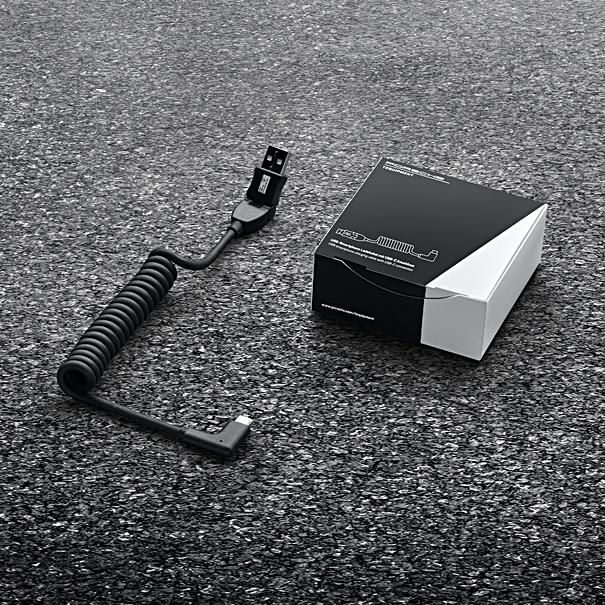Porsche USB smartphone laadkabel met USB