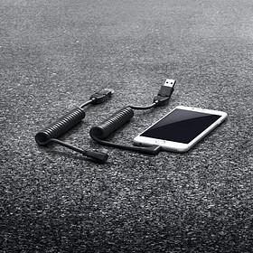Porsche USB Smartphone laadkabel met Apple aansluitkabel