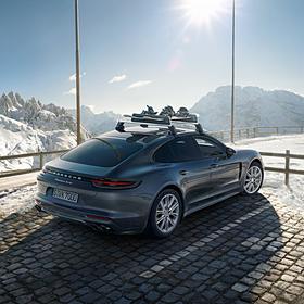 Porsche 20 inch Exclusive Design complete winterset voor Panamera G2