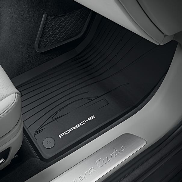 Porsche Allweather vloermatten voor Panamera G2 Zwart