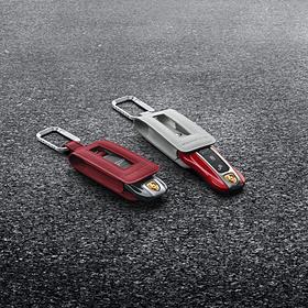 Porsche Autosleutel gespoten-Indischrood