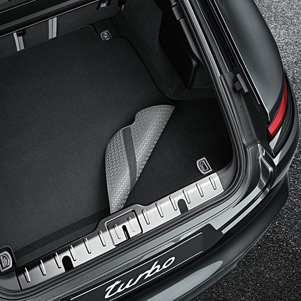 Porsche Omkeerbare koffermat met nubuck zoomrand