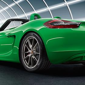 Porsche Achterlichten verduisterd voor Boxster 981