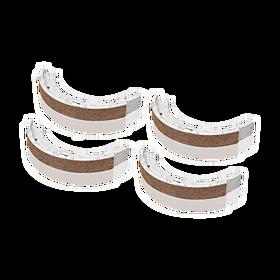 Set remschoenen - Porsche 986