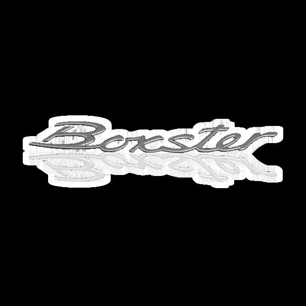 Belettering 'Boxster' Titanium Metallic - Porsche 986