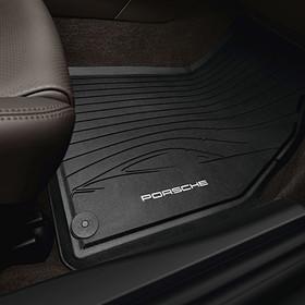 Porsche Allweather rubberen vloermatten 2-delig voor 997 (ex. Bose)
