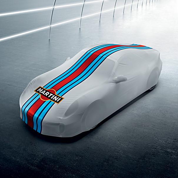 Porsche Auto afdekhoes voor binnen - 991 Aerokit Cup - MARTINI RACING