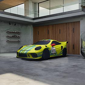 Porsche Indoor Car Cover 911 GT3 RS Grello Design