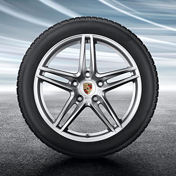 Porsche 19 inch Carrera complete winterset voor 991-2 (C2)
