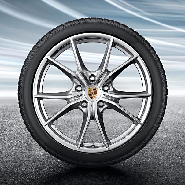Porsche 20 inch Carrera S complete winterset voor 911 generatie 991-II