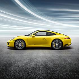 Porsche 20 inch 911 Turbo velgen met zomerbanden