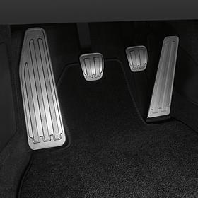 Porsche Aluminium pedalensysteem en voetensteun voor 991 handbak