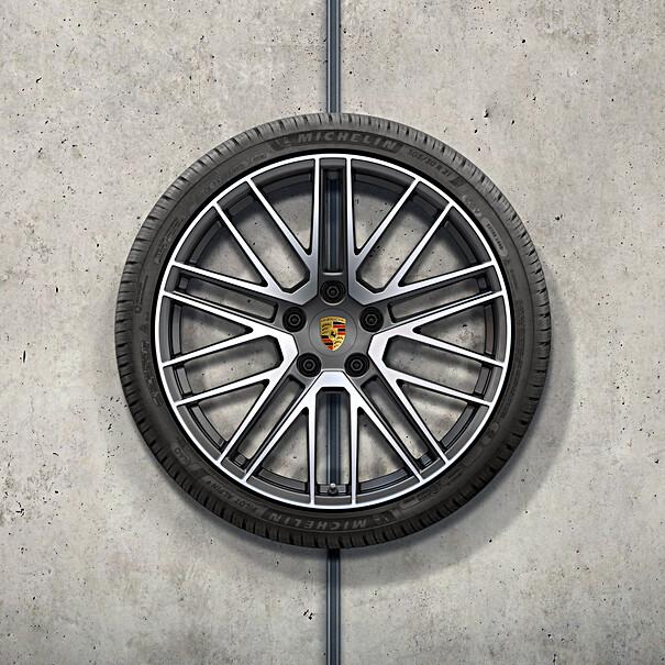 Porsche 20/21 inch 911Turbo complete winterwielenset