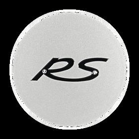 """Naafdop """"RS"""" zilver - Porsche 993 Carrera RS"""
