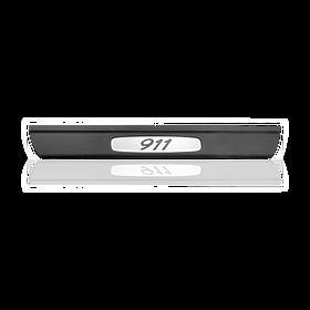 Dorpellijst Silver Metallic - Porsche 911 Carrera (996)