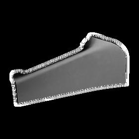 Afdekking voor handrem zwart gelakt - middenconsole voor Porsche 986