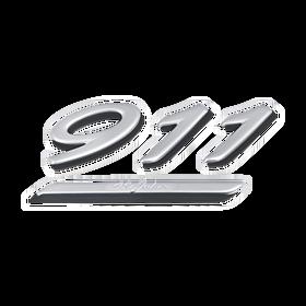 Belettering '911' - Porsche 996 '40 Jahre 911'
